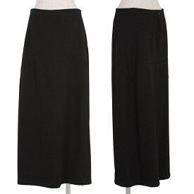 ワイズY's バックスリットデザインスカート 黒M位【中古】 【レディース】