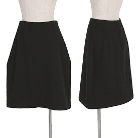 ワイズY's ウールスカート 黒3【中古】 【レディース】