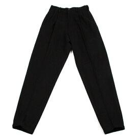 ワイズY's ウールナイロンツータックパンツ 黒M位【中古】 【レディース】