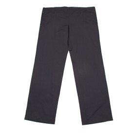 DKNY ウエスト紐ナイロンワイドパンツ 濃紺L【中古】 【メンズ】