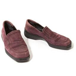 巴裏BALLY韋德懶漢鞋煙紫35.5(22.5位)