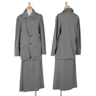 tricot COMME des GARCONS Suit Wool Jacket & Skirt