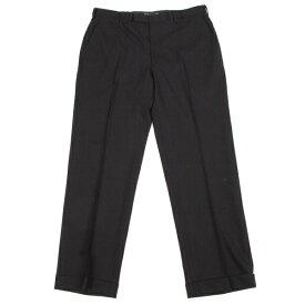 バーバリー ブラックレーベルBURBERRY BLACK LABEL ストライプトラウザーパンツ 黒42(L)【中古】 【メンズ】