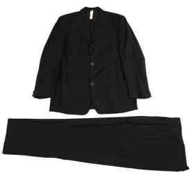 ジャンニ ヴェルサーチGIANNI VERSACE メデューサデザイン3Bサマーウールセットアップスーツ 紺52【中古】 【メンズ】