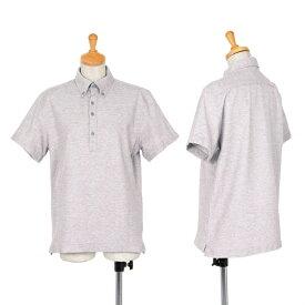 ポールスミスPaul Smith PS ボタンダウンポロシャツ 杢グレーM【中古】 【メンズ】