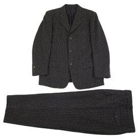 イッセイミヤケ メンISSEY MIYAKE MEN ペンシルストライプ3Bセットアップスーツ チャコールXL【中古】 【メンズ】