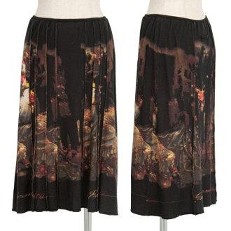 Jean-Paul GAULTIER PARIS Graphic Printed Skirt