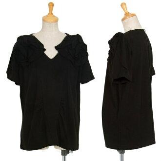 MIU MIU Corsage Design Rayon T Shirt