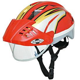 【送料無料】ides アイデス アイシールドヘルメット S レッド