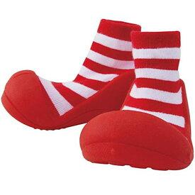 【送料無料】Baby feet(ベビーフィート) Casual Red(カジュアル レッド) 11.5cm