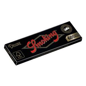 シャグ用・巻紙(10個セット) スモーキング デラックス・シングル ・60枚入・フラット状