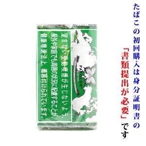 【シャグ刻葉】 パピヨン メンソール(緑袋)40g 1袋& SXSペーパー or ウェットティッシュ 1個セット メンソール系