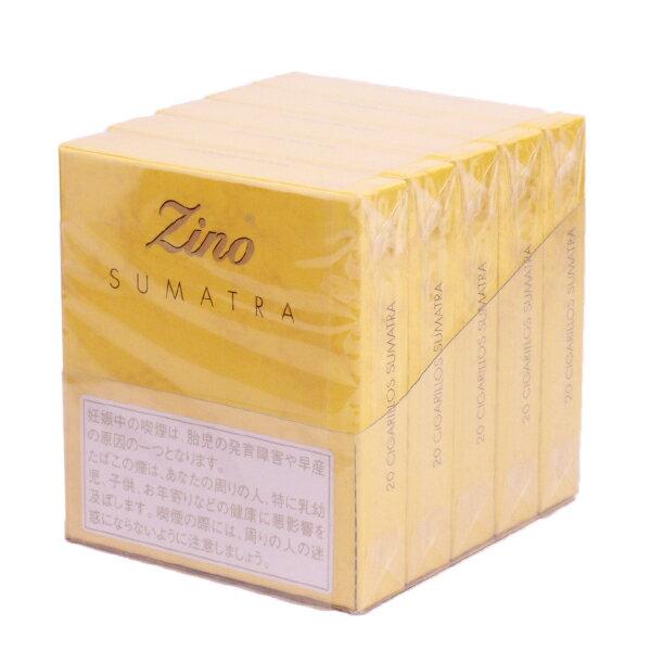 【ドライシガー】【箱買い・5個入】ジノ シガリロ ジノ金・スマトラ(20本入)クラブサイズ系