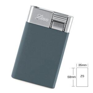 喫煙具・シガーライター ジノ ジェットフレーム式・ターボライター ZS 色:ブルー(スモールタイプ)