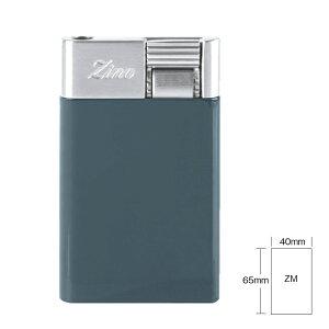 喫煙具・シガーライター ジノ ジェットフレーム式・ターボライター ZM 色:ブルー(65 x 40 x 8.6 mm)
