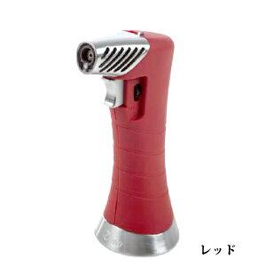 喫煙具・シガーライター ジノ ジェット&ソフト切り替え・テーブルトップライター ZXL・レッド 卓上ライター