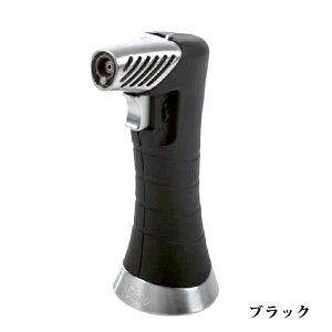 喫煙具・シガーライター ジノ ジェット&ソフト切り替え・テーブルトップライター ZXL・ブラック 卓上ライター