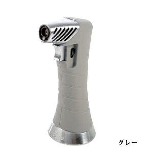 喫煙具・シガーライター ジノ ジェット&ソフト切り替え・テーブルトップライター ZXL・グレー 卓上ライター