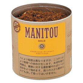 【シャグ刻葉】 マニトウ・紙缶・ゴールド 80g&フレーバーリングペーパー 1個セット 缶入・ナチュラル系