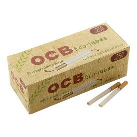 シャグ用・さや紙 OCB チューブ紙・ナチュラル レギュラーサイズ8.5mm×83mm ・250本入