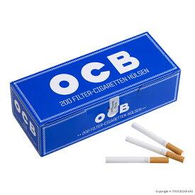 シャグ用・さや紙 OCB チューブ紙 レギュラーサイズ8.5mm×83mm ・200本入