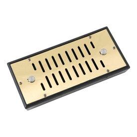 喫煙具・タバコ保湿剤 シガー・大型ヒュミドール用 保湿器 長方形型・ゴールド長さ168mm×幅65mm