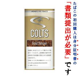 【パイプ刻葉】 コルツ ゴールドデラックス 40g パウチ袋・スイート系