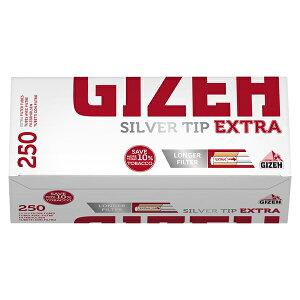 シャグ用・さや紙 ギゼ・フィルターチューブ シルバー・チップ・エクストラ250(250本入)