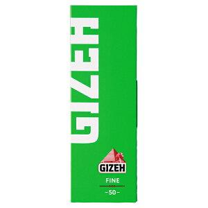 シャグ用・巻紙(10個セット) ギゼ シングル ファイン カットコーナー(50枚入)