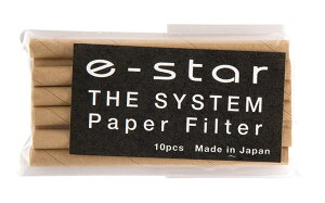 喫煙具・パイプ用のフィルター イースター・システムパイプ用フィルター・6ミリ 長さ80mm×直径6mm(10本入)