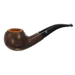 喫煙具・パイプ本体(ブライヤー) BCパイプ クチュール(ダークブラウン)(9mmフィルター) アップルベント