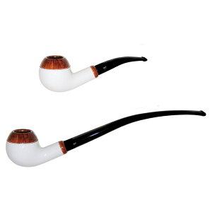 喫煙具・パイプ本体(ブライヤー) BCパイプ リブレ(9mmフィルター) ホワイトスモールチャーチワーデン系