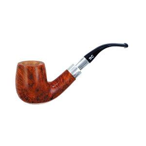 喫煙具・パイプ本体(ブライヤー) BCパイプ シルバーバンド ユニ(9mmフィルター) 1304