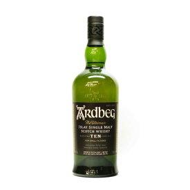 ウイスキー・スコッチ アードベッグ10年 46度/700ml シングルモルトウイスキー