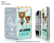 【送料無料】【iPhone4Sケース】【iphone4ケース】【SIGEMA】ArmourIMD/Bro&SitPanda/iphone4sイラストケース/アイフォン4sクマ/iphone4カバーくま/スマホカバーくま/iphone4sカバーイラスト/アイフォーン4sイラスト/クマのイラスト/くま