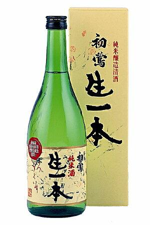 木内醸造「初鶯(はつうぐいす)特選 生一本」720ml