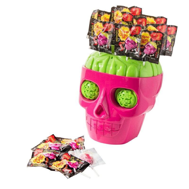 チュッパチャプス スカル 3D  キャンディ 50個入り