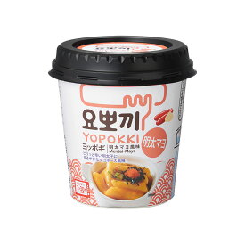 HAITAI YOPPOKI ヘテ ヨッポギ カップ入り インスタント トッポギ 明太マヨ風味