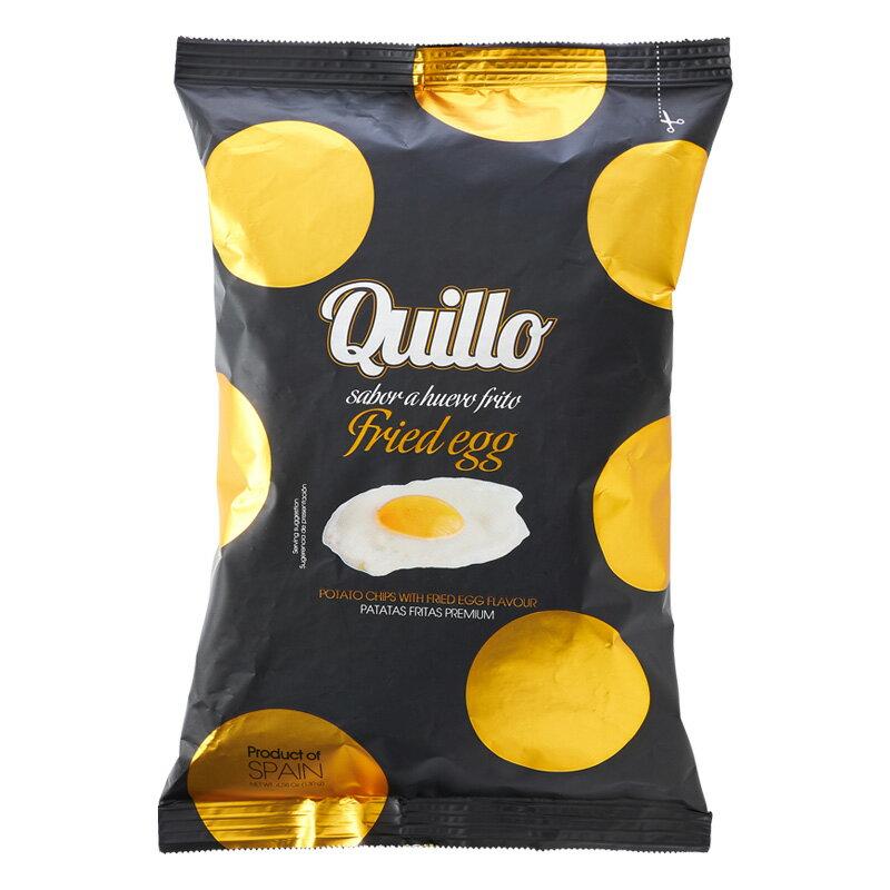 QUILLO キジョー ポテトチップス フライドエッグ 【目玉焼きフレーバー】