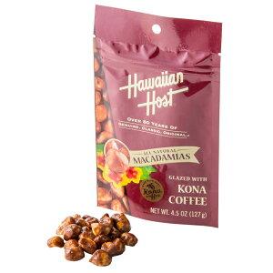 ハワイアンホースト マカデミアナッツ スタンドパック コナコーヒー