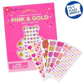 ミセス・グロスマン ステッカー FUNPACK PINK/GOLD
