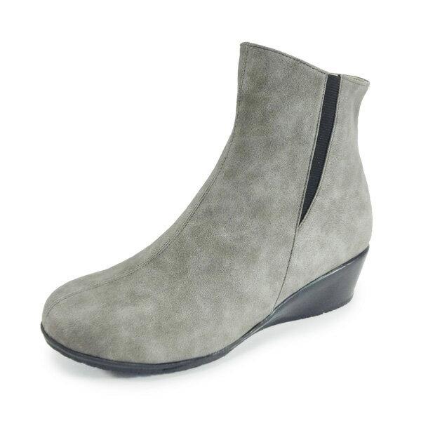 【la verita】9-2321 Barletta バルレッタ/ショートブーツ晴雨兼用はっ水加工/歩きやすい4.5cmウェッジソール クッションインソール ,撥水レインブーツ,ラベリータ