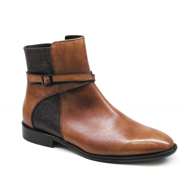 【プリーズ・アーチ】17-18183 (ショートブーツ・2.5cmローヒール・レディース・イタリア製本革ブーツ)