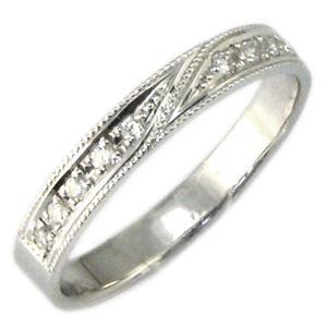 【送料無料】結婚指輪・プラチナ・ダイヤモンド・リング・マリッジリング【RCP】10P06Aug16