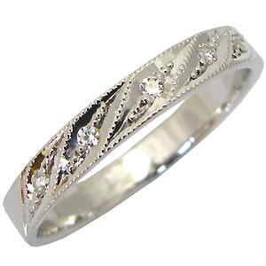 【送料無料】マリッジリング ダイヤモンド リング 結婚指輪 18金 リング【RCP】10P06Aug16