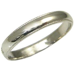 【送料無料】結婚指輪・シンプル・プラチナ・彫金・甲丸リング・マリッジリング・【RCP】10P06Aug16