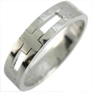 プラチナ・クロス・リング・結婚指輪・ピンキーリング・指輪