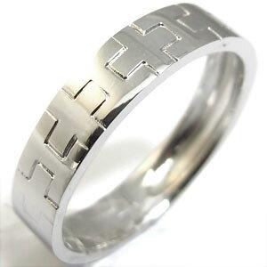 クロス・ピンキーリング・K18・ペアリング・結婚指輪