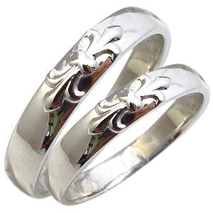【送料無料】結婚指輪 ペアリング K18 リング 百合の紋章 マリッジリング【RCP】10P06Aug16