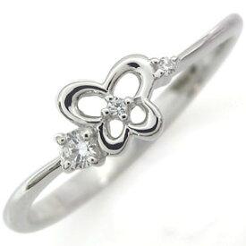 指輪 レディース おしゃれ 蝶 バタフライ シルバー アクセサリー キュービックジルコニア ホワイトデー プレゼント
